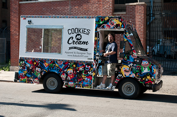 cookies and cream truck