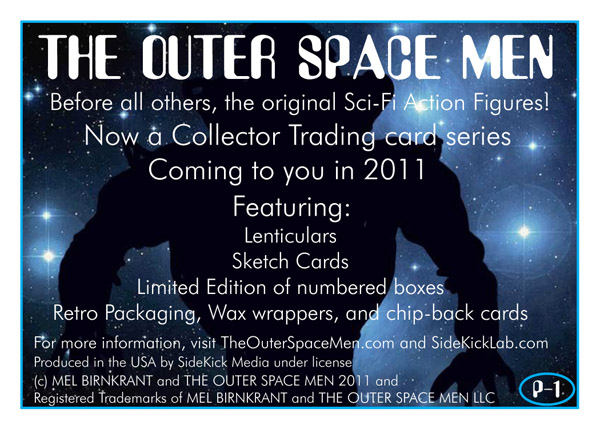 The Outer Space Men promo card back