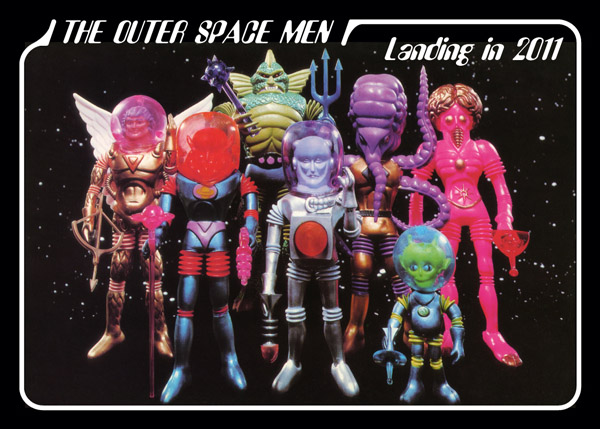 The Outer Space Men promo card