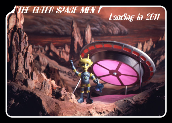 The Outer Space Men promo card P2
