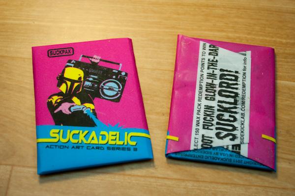 Suckpax 3 wax pack prototypes